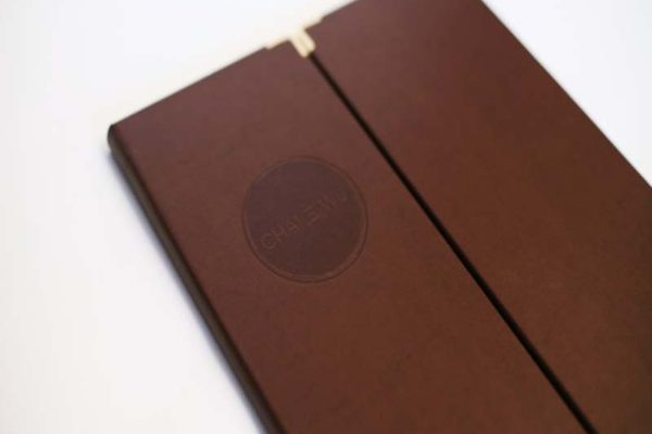 Treadstone Menus - Wooden Menu Covers
