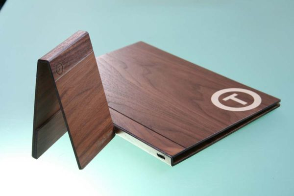 Treadstone Menus - Wooden Menu Holders