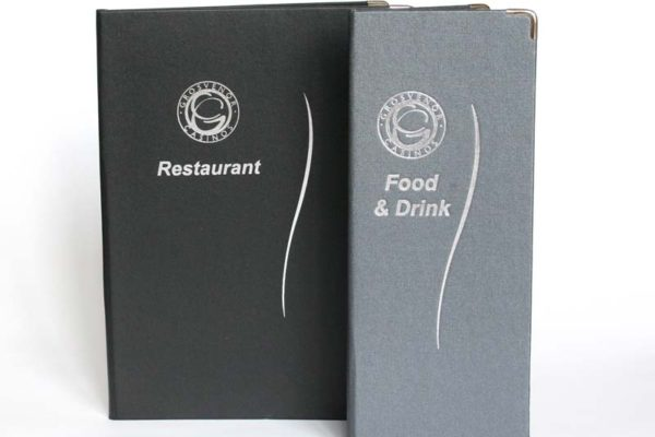 Treadstone Menus - Hardcover Restaurant Menu