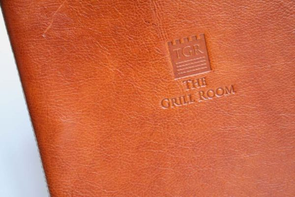 Treadstone Menus - Leather Menu Covers UK
