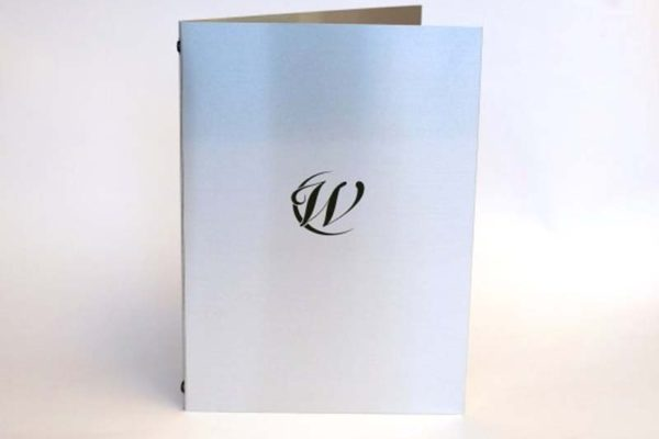 Treadstone Menus - Luxury Embossed Menu Cover